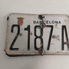 Coches y Motocicletas: MATRÍCULA DE BARCELONA. Lote 240210380