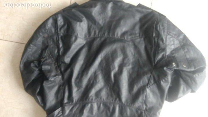 Coches y Motocicletas: Cazadora de cuero antigua tipo motorista chaqueta piel rockero - Foto 6 - 241668315