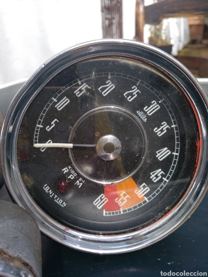 Coches y Motocicletas: Antiguo Juego de contadores JAEGER, made in england. VELOCÍMETRO, etc .Coche ingles - Foto 9 - 196638588