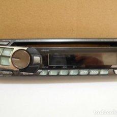 Coches y Motocicletas: CARATULA FRONTAL EXTRAÍBLE RADIO ALPINE CDE - 9821R. Lote 199710673