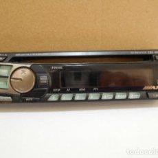 Coches y Motocicletas: CARATULA FRONTAL EXTRAÍBLE RADIO ALPINE CDE - 9801R. Lote 199710961