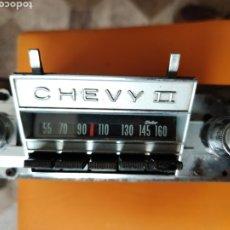 Coches y Motocicletas: RADIO DE COCHE ANTIGUA DELCO,PARA CHEVY II.. Lote 250117165