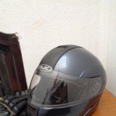 Coches y Motocicletas: ¡¡ EXCELENTE CASCO DE MOTO,: HJC, MAX E9, MODULAR. ALTA GAMA. Y GUANTES, PROFESIONALES. !!. Lote 257412435