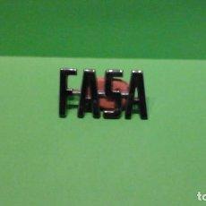 Coches y Motocicletas: ANAGRAMA FASA. Lote 257522860