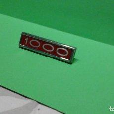 Coches y Motocicletas: ANAGRAMA SIMCA1000. Lote 257545735