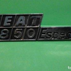 Coches y Motocicletas: ANAGRAMA SEAT 850 ESPECIAL. Lote 257720205