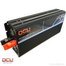 Coches y Motocicletas: INVERSOR CONVERSOR DE 12VDC A 230VAC 2000 WATIOS DCU COMPLETAMENTE NUEVO. Lote 260519510