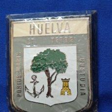 Coches y Motocicletas: PLACA COCHE ANTIGUA HUELVA. Lote 260848490