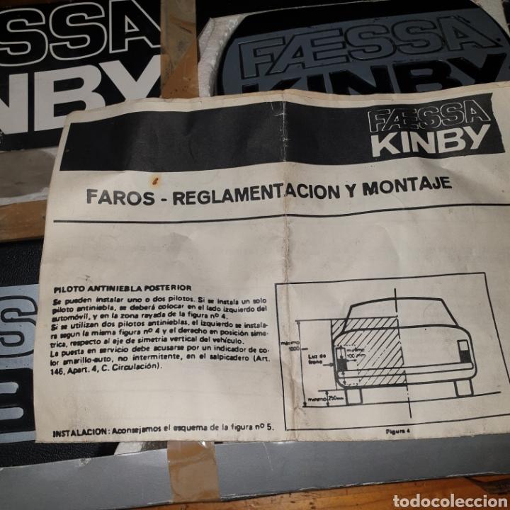 Coches y Motocicletas: FAROS ANTINIEBLA FAESSA KINBY - Foto 4 - 262073855