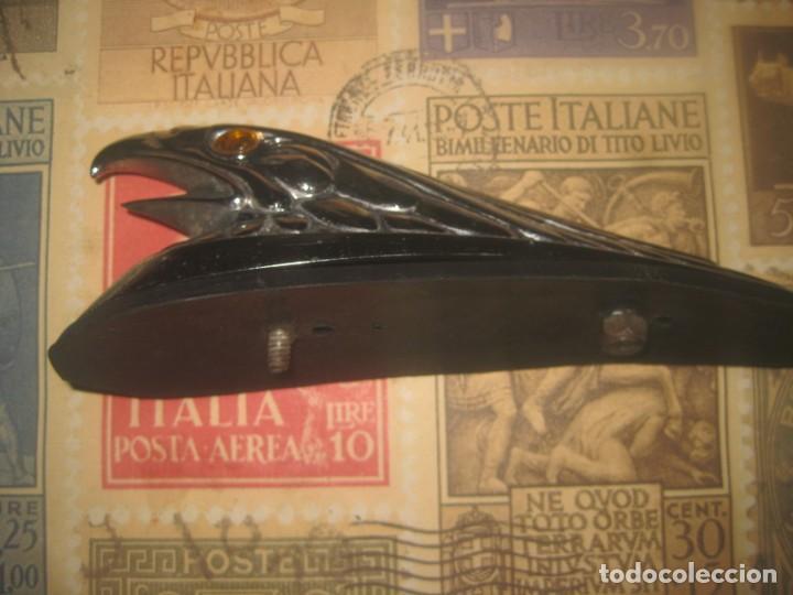 Coches y Motocicletas: Aguila ojos luz guardabarros custom chooper harley davidson lleva conexion para luz lea descripcion - Foto 2 - 262244080