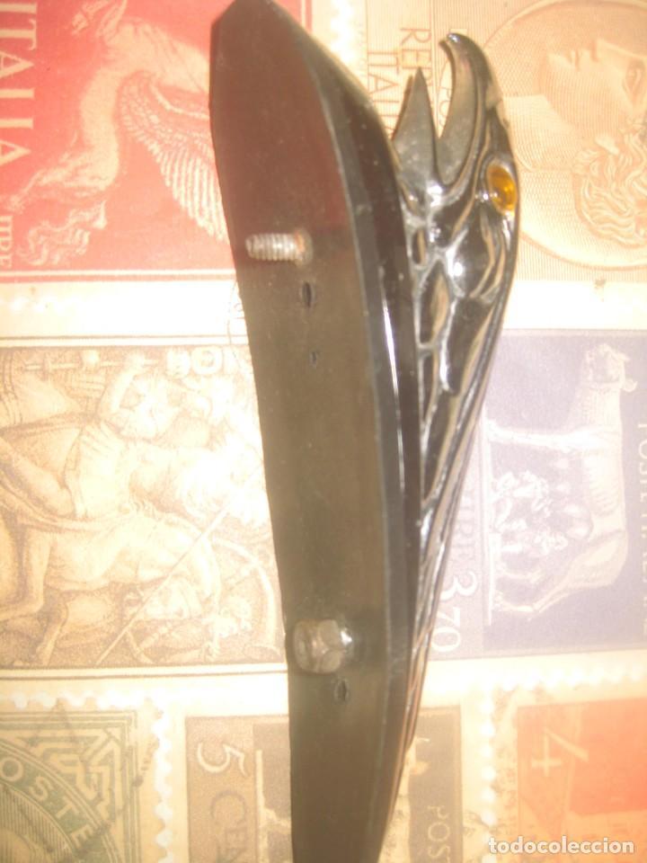 Coches y Motocicletas: Aguila ojos luz guardabarros custom chooper harley davidson lleva conexion para luz lea descripcion - Foto 4 - 262244080