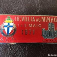 Coches y Motocicletas: 1971PLACA PUBLICIDAD 16ª VOLTA AO MINHO - GUIMARÃES - C.C.P - AUTOMOVILISMO. Lote 263184955
