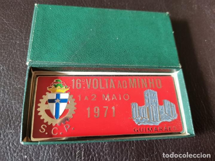 Coches y Motocicletas: 1971PLACA PUBLICIDAD 16ª VOLTA AO MINHO - GUIMARÃES - C.C.P - AUTOMOVILISMO - Foto 3 - 263184955