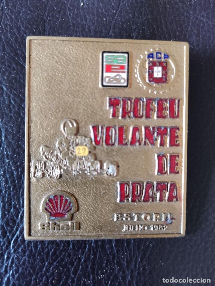 1982 MEDALLA - 1978 ESTORIL KARTING TROFEO VOLANTE DE PRATA (Coches y Motocicletas - Repuestos y Piezas (antiguos y clásicos))