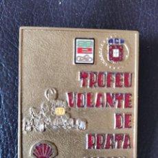 Coches y Motocicletas: 1982 MEDALLA - 1978 ESTORIL KARTING TROFEO VOLANTE DE PRATA. Lote 263185780