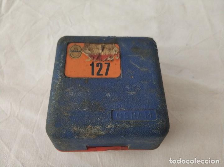 Coches y Motocicletas: Antiguas bombilas osram para coche seat 127 - Foto 2 - 268826364