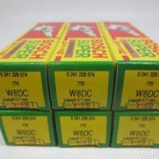 Coches y Motocicletas: BUJÍAS BOSCH W8DC (6 UNIDADES) (A ESTRENAR). Lote 269984978