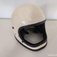 Coches y Motocicletas: ANTIGUO CASCO FABRICADO EN ESPAÑA.. Lote 272386933