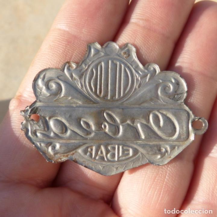 Coches y Motocicletas: Antiguo emblema , chapa o insignia , ciclos orbea eibar - Foto 2 - 274167463