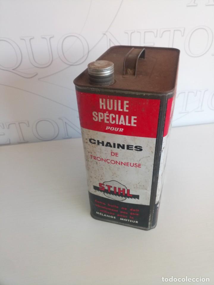 Coches y Motocicletas: Lata lubricantes aceite motosierra Stihl - Foto 2 - 278184143