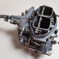 Coches y Motocicletas: CARBURADOR WEBER BRESSEL 32 DOBLE CUERPO-SEAT -RENAULT. Lote 278397043