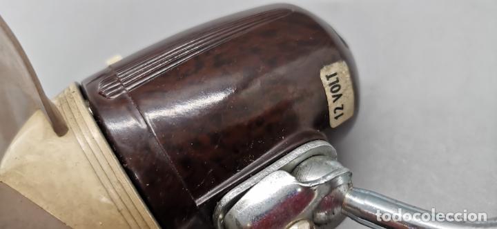 Coches y Motocicletas: Ventilador antiguo para coche 12v BAQUELITA aspas flexibles - Foto 4 - 287792433