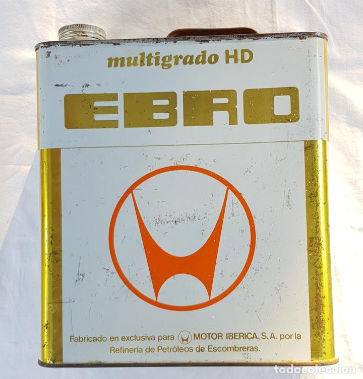 """LATA """"EBRO"""" AÑOS 60/70. MOTOR IBÉRICA. MULTIGRADO. (Coches y Motocicletas - Repuestos y Piezas (antiguos y clásicos))"""