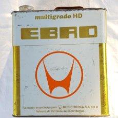 """Coches y Motocicletas: LATA """"EBRO"""" AÑOS 60/70. MOTOR IBÉRICA. MULTIGRADO.. Lote 288571513"""