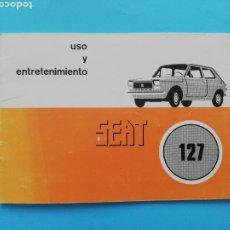 Coches y Motocicletas: MANUAL Y ENTRETENIMIENTO SEAT 127. Lote 289456108