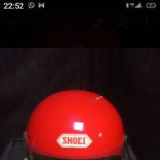 Coches y Motocicletas: CLÁSICO CASCO MOTO SHOEI. Lote 294500438
