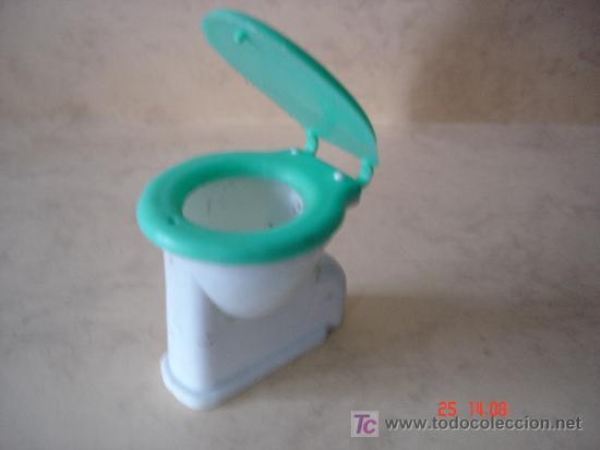TAZA DE WATER - 6.3 X 5 X 6.1 CM. - PLASTICO - (Juguetes - Repuestos y Piezas)