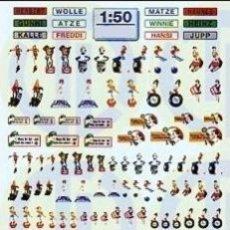 Repuestos y piezas: ADHESIVOS VARIADOS PARA CAMIONES ESCALA 1:50. Lote 36495169