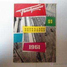 Repuestos y piezas: LOTE DOS CATOLOGOS TRENES FLEISCHMAM AÑOS 1961 Y 1966. Lote 40573619