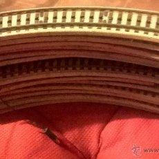 Repuestos y piezas: RAILES DE TREN RENFE 13 CURVOS 4 RECTOS. Lote 46413809