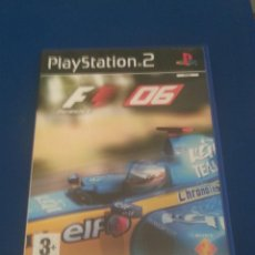 Trenes Escala: CAJA VACIA Y MANUAL DE F1 06 - PLAYSTATION 2. Lote 48382704