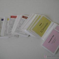 Repuestos y piezas: LOTE DE 60 TARJETAS DEL JUEGO MONOPOLY EN INGLES DE 1993. . Lote 48541204