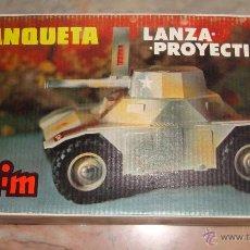 Repuestos y piezas: DIFICIL CAJA VACIA DE TANQUETA LANZA PROYECTILES DE CLIM BUENA CONSERVACION. Lote 50495815