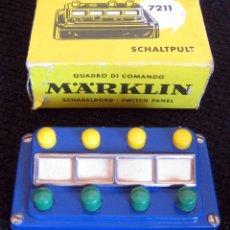 Repuestos y piezas: MARKLIN - HO - PUPITRE DE MANDO- REF 7211 - CON CAJA. Lote 58867831
