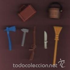 Repuestos y piezas: LOTE DE 7 RECAMBIOS DE PLAYMOBIL. Lote 59849604