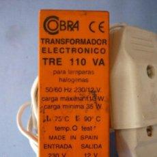 Repuestos y piezas: TRANSFORMADOR ELECTRONICO PARA TRENES. TRE 110 VA.GASTOS DE ENVIO 4€ . Lote 60722563