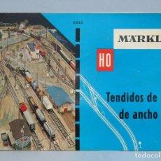 Repuestos y piezas: MARKLIN. TENDIDOS DE VIA ANCHO HO. Lote 66073226