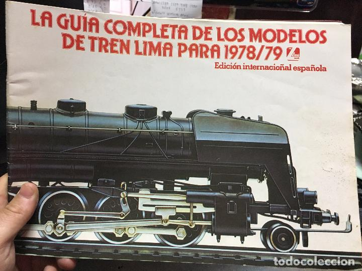 LA GUIA COMPLETA DE LOS MODELOS DE TREN LIMA PARA 1978/79 (Juguetes - Repuestos y Piezas)