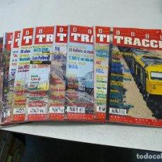 Trenes Escala: DOBLE TRACCIÓN 12 EJEMPLARES DE LA FAMOSA REVISTA FERROVIARIA. . Lote 101040219