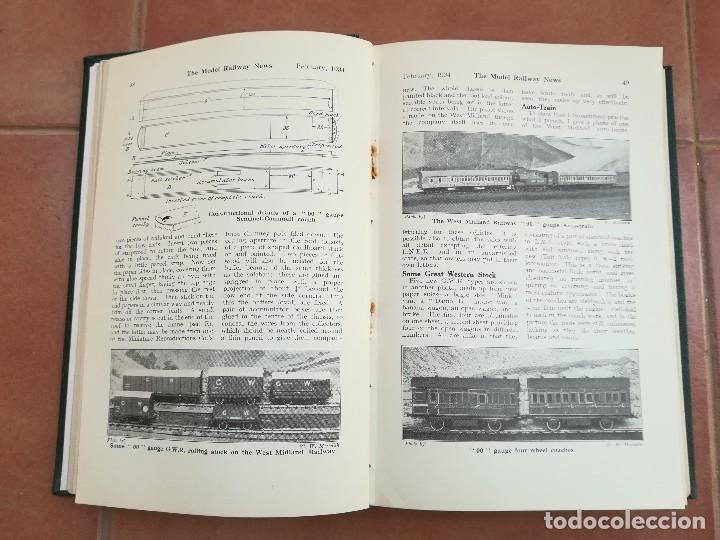 Repuestos y piezas: LIBRO,12 REVISTAS TEMA VAGONES,TRENES,FERROCARRIL,VIAS,ESTACIONES,AÑO 1934,COLECCIONISMO FERROVIARIO - Foto 4 - 108815379