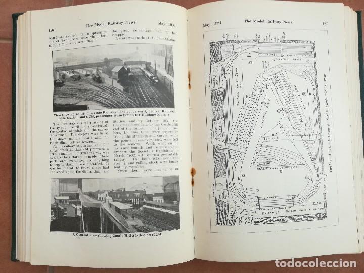 Repuestos y piezas: LIBRO,12 REVISTAS TEMA VAGONES,TRENES,FERROCARRIL,VIAS,ESTACIONES,AÑO 1934,COLECCIONISMO FERROVIARIO - Foto 5 - 108815379