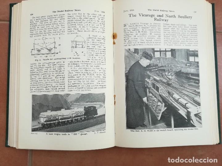 Repuestos y piezas: LIBRO,12 REVISTAS TEMA VAGONES,TRENES,FERROCARRIL,VIAS,ESTACIONES,AÑO 1934,COLECCIONISMO FERROVIARIO - Foto 6 - 108815379