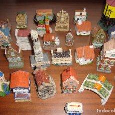 Repuestos y piezas: COLECCION DE CASAS PARA MAQUETA DE TRENES. Lote 121043067