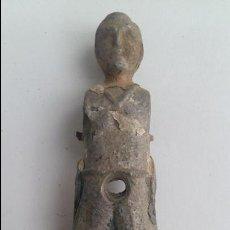 Repuestos y piezas: ANTIGUO JUGADOR MUÑECO DE FUTBOLIN. METALICO. APROXIMADAMENTE 13 CM DE ALTO. Lote 122574591