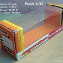 Repuestos y piezas: CAJA VACÍA PILEN SERIE SUPER STARS M 200 PEUGEOT 304. Lote 107759023