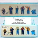 Repuestos y piezas: CONRAD LOTE 6 FIGURAS OBREROS - COMPLEMENTO PARA DIORAMA. Lote 95465207